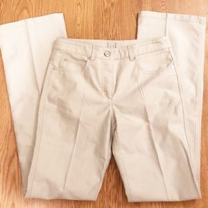 Escada shimmer bootcut jeans sz 38